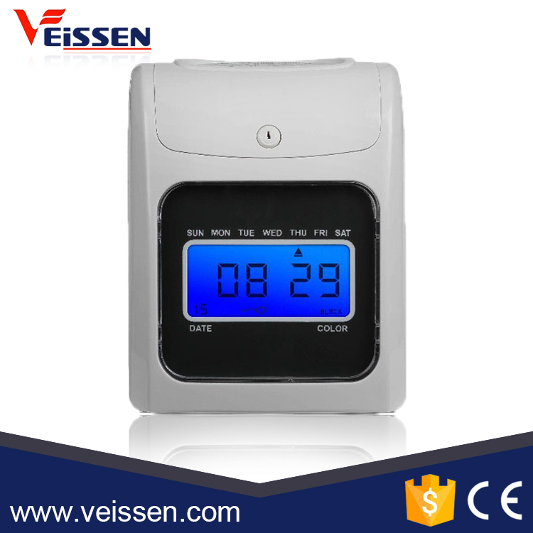 High quality electronic first time clock , time attendance