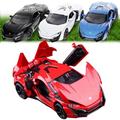 1 32 kids toys Fast Furious 7 Lykan Hypersport Mini Auto metal toy cars model pull