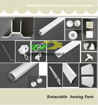 Aluminum Parts Retractable Awning Roller Tube - Buy ...