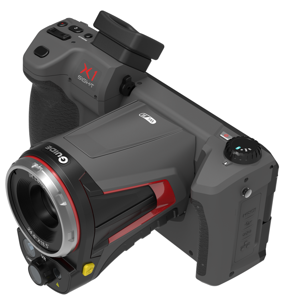 Infrared thermal image camera with visual image camera from China