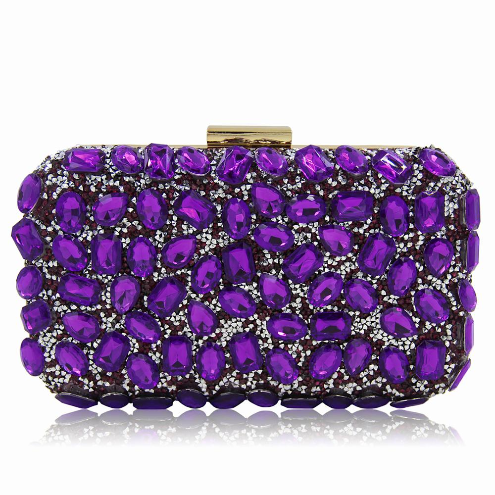 54f9592abcef Crystal Bag Women Evening Bag Gold Clutch Bags Ladies Blue Party Clutches  Purple Wedding Clutch Purses - Buy Ladies Party Clutch Purse,Clutch Purse  ...