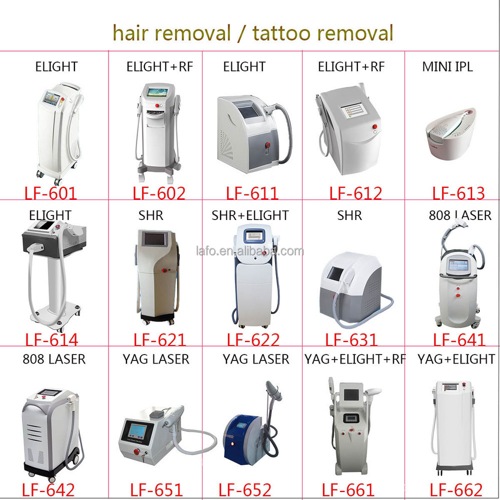 brown hair removal machine