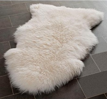 Genuine Sheepskin Rug Single Pelt Fur Buy White Fur Rugs