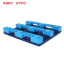blowing injection heavy duty double faced plastic pallet