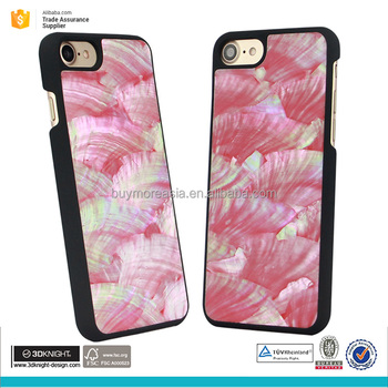 New arrival hard plastic seashell phone cover mobile phone cover for iphone