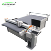 dual heads multi functions professional V shape paper board die cutting machine