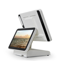 "POS 15"" Capacitive LED Backlit Multi-Touch Monitor, True Flat Seamless Design Touchscreen, Great for office, POS, Retail"