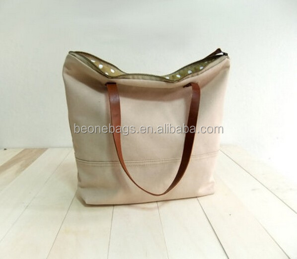 Tote Bag With Leather Straps, Tote Bag With Leather Straps ...