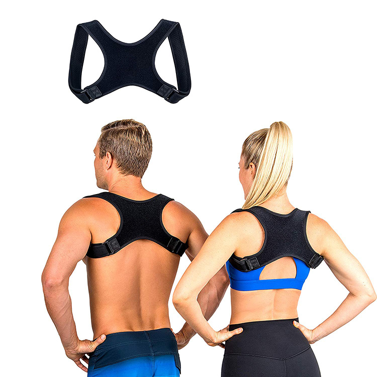 2019 amazon hot sell adjustable back corrector Posture Trainer and Corrector for Back posture corrector, Black or as yours