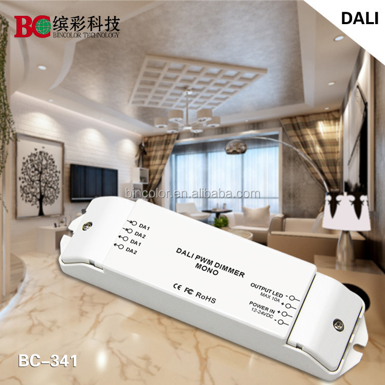 BC-341 1ch dali led driver dimmable 24v