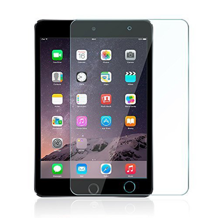 High Clear 0.3mm Ultra Thin Tempered Glass Screen Protector Protective Film for Apple IPad 2/IPad 3/IPad 4