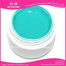 5ML Nail Art Blue Milky Cream UV Builder Color Gel HN795