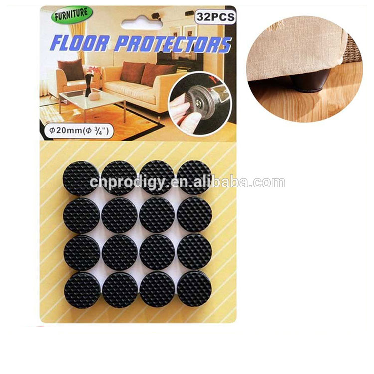 Cheap price felt furniture pads protect glass adhesive felt pads type set for bottom of furniture