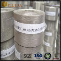 AISI316 Plain Weave Stainless Steel Wire Mesh for Filters