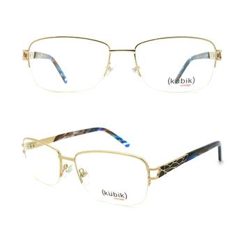 99baa502ca7 KK2018 2018 New Arrivals Fashion CE Italian Women 18K Gold Metal Optical  Eyewear Frame