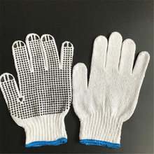 OPTIMA pvc dots / dotted gloves cotton knitted gloves safety working gloves
