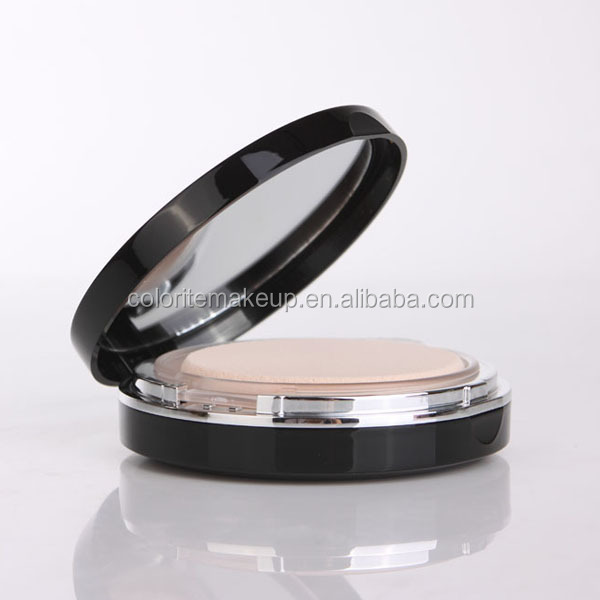 OEM manufacturer mineral two way cake compact pressed face powder palette makeup foundation