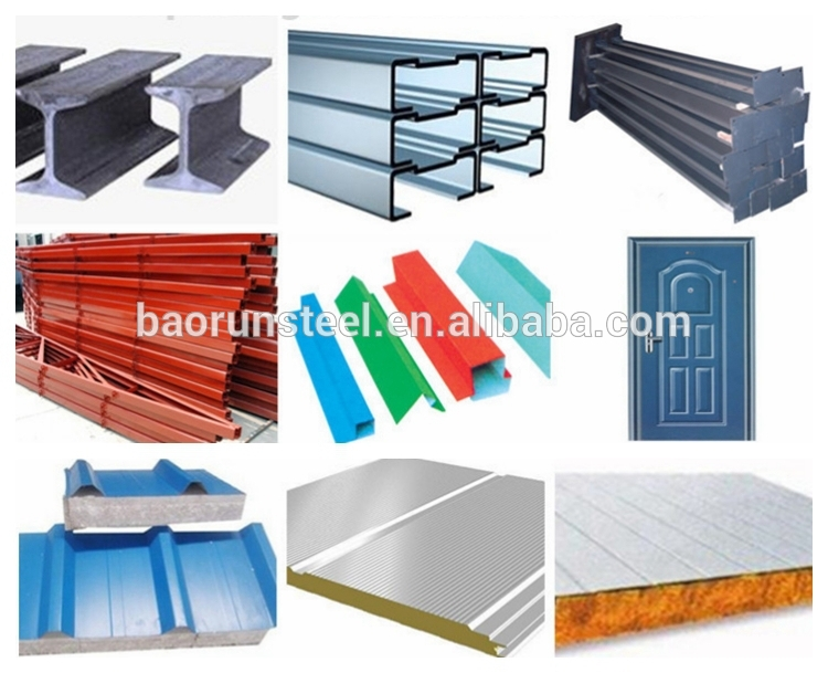 High quality turnkey construction design steel prefabricated house warehouse
