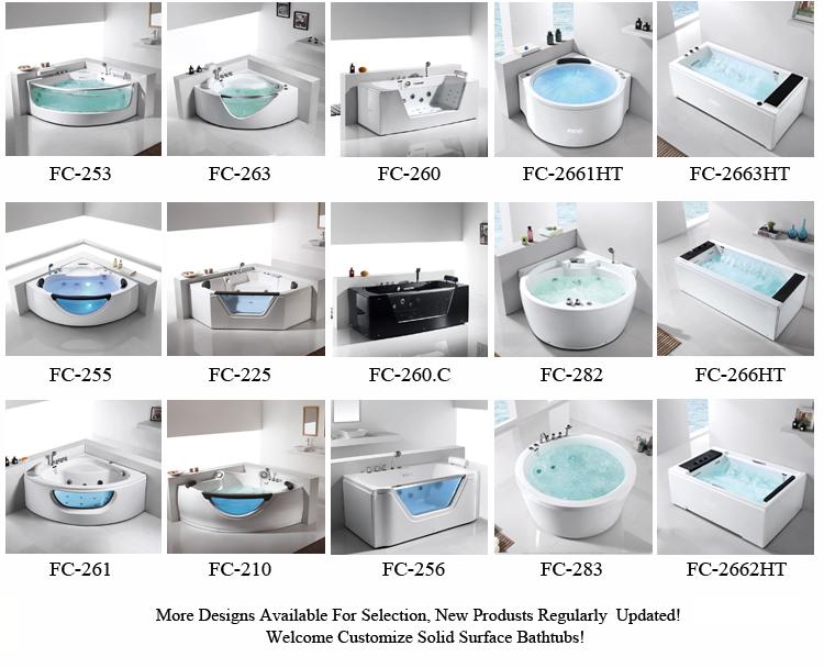 FICO Single massage bathtub FC-254