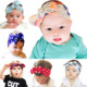 2017 fashion dot patten baby elastic head band / girl headband