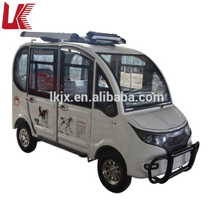 Factory price cheap 4 seats passenger electric four wheel tricycle