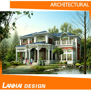 Villa Garden Architectural Designings