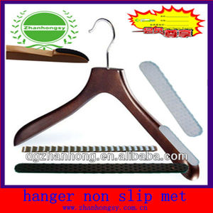 luggage clothes hangers (silicone Non-slip strips )
