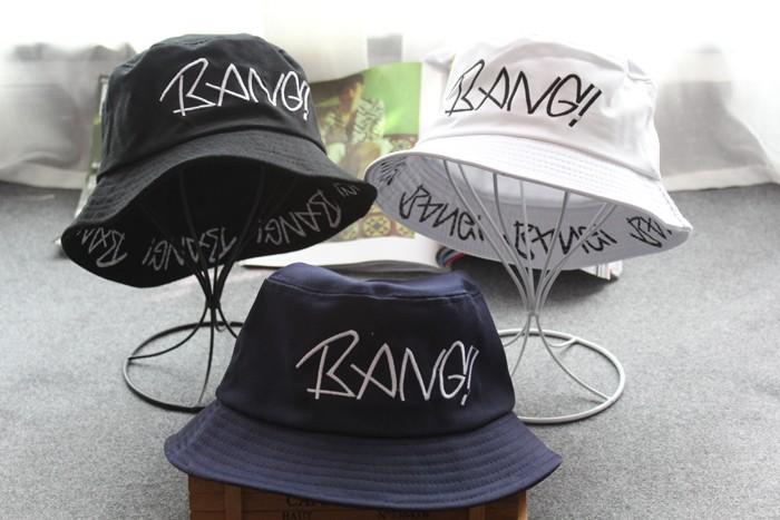 8c855b9aaaaea 2019 de moda de verano Unisex sombrero de cubo de las mujeres de los hombres  de Hip Hop gorra sombrero de pesca bob chapeau