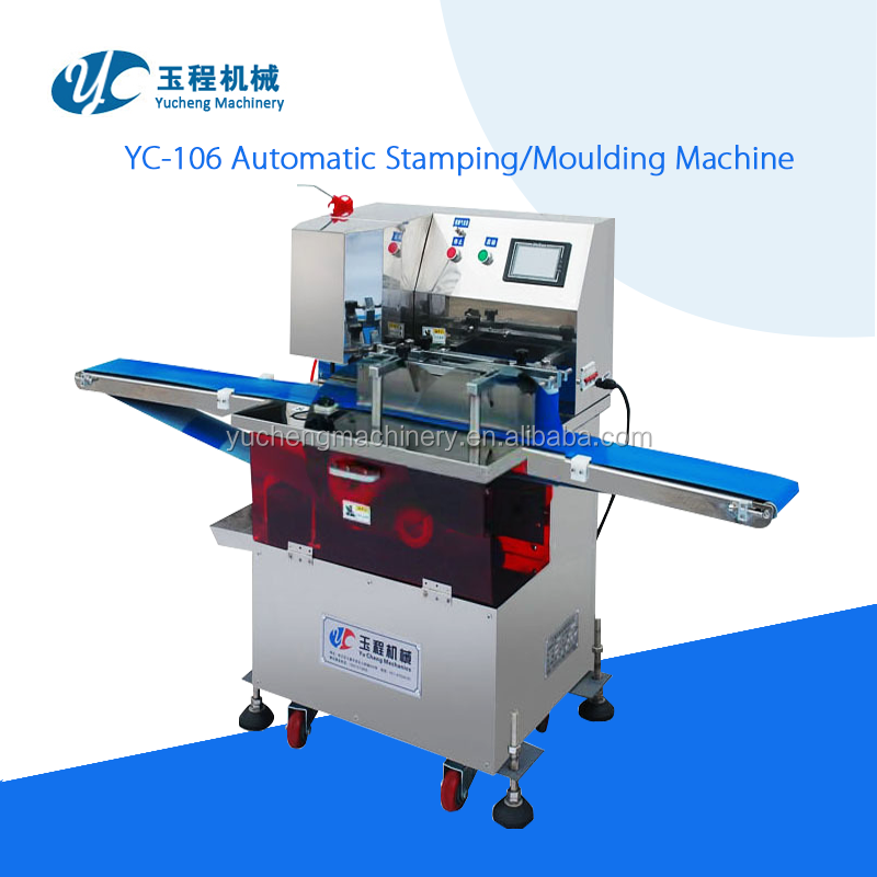YC-106 Automatic stamping patterning moulding machine
