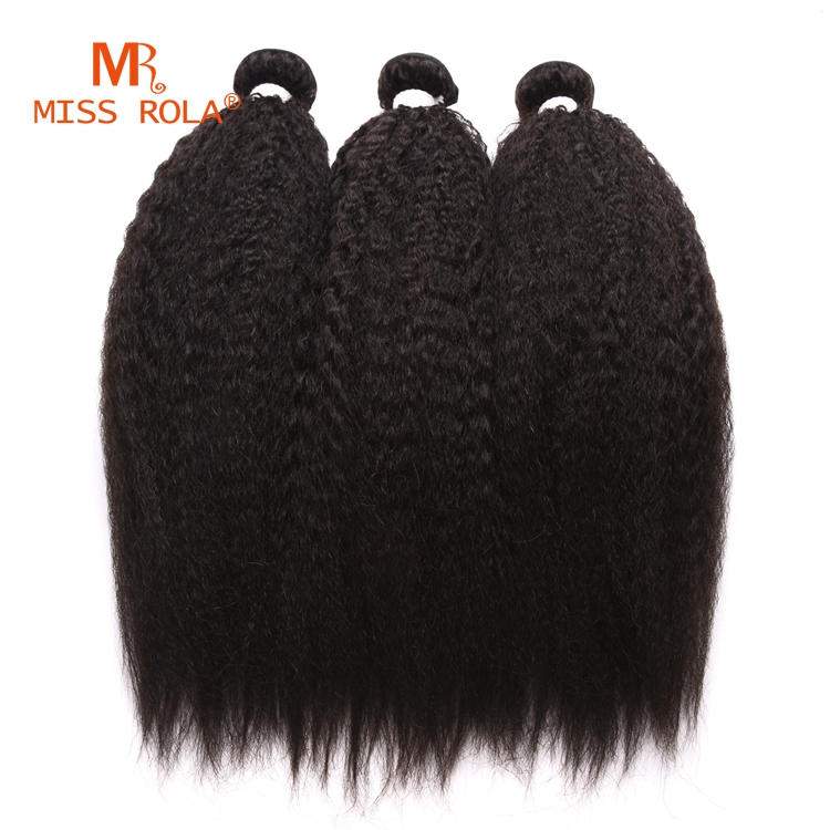 Kinky straight hair yaki human extension brazilian virgin hair 8a unprocessed virgin remy hair extension 100% full cuticle
