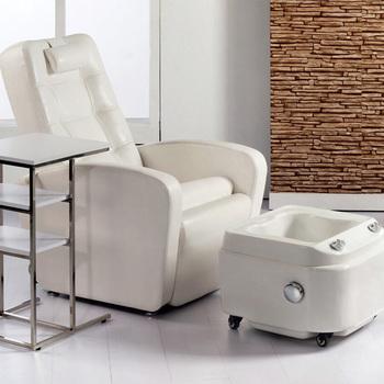 Ltima masaje de pies sill n cuero pvc pedicure silla con for Sillas para pedicure