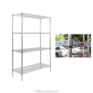 Commercial grade 304 stainless steel bathroom shelf/bathroom storage shelf