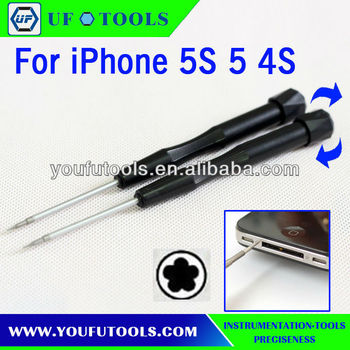 iphone 5 screwdriver size no9900 0 8 5 point pentalobe screwdriver for iphone 5s 5 8448