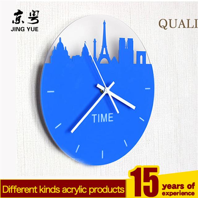 China black plastic wall clock wholesale alibaba new design black plastic pmma plexiglass acryilc wall clock ccuart Choice Image