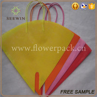 non woven flower packaging sleeve and packaging sleeves for cut flowers