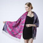 silk scarf/shawl High quality colorful lady shawl 100% pure silk scarf ladies woven scarf big size