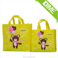 Non woven bag trolley school bag canvas shopping bag with your logo