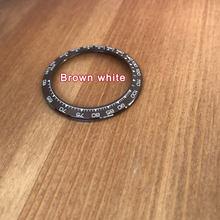 38,5*30,5 мм Высокое качество керамические часы Ролекс ободок вставка петля для Rlx cosmographe Daytona часы 116500 запасные части(Китай)