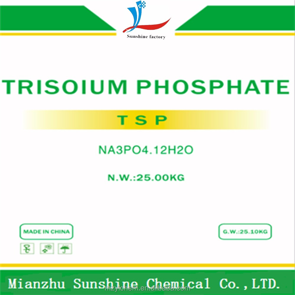 industry grade 98% (TSP) as water softener materals,trisodium phosphate