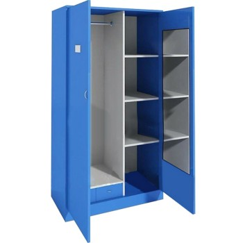 Living Room Furniture,Steel Blue Color Metal Locker,Bedroom ...