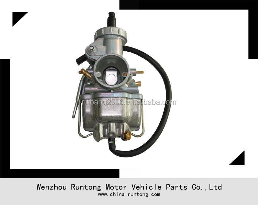 100cc 125cc dirt bike parts,ATV carburetor,24mm zinc carburetor