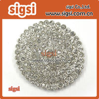 Sparkling lots clear acrylic Crystal Rhinestone Button
