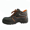 SRSAFETY 2016 emboss cow split leather industrial steel toes safety shoes