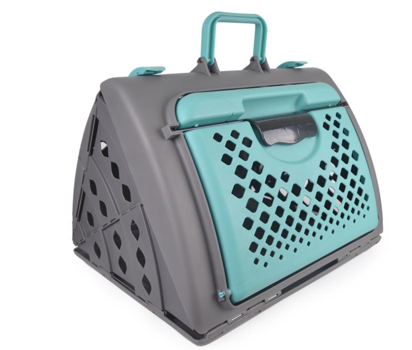 Новый продукт, дорожная сумка для перевозки домашних животных, складная вентилируемая Милая коробка для перевозки домашних животных/коробка для перевозки домашних животных