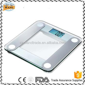 Digital Gl Bathroom Scale Body Weight