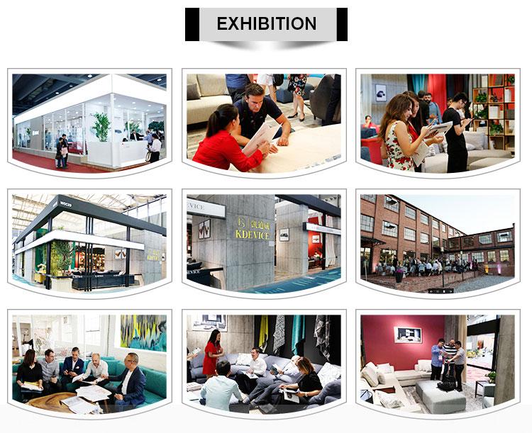 Nyaman Desain Rumah Modern Yang Populer Ungu Mewah Beludru Sofa