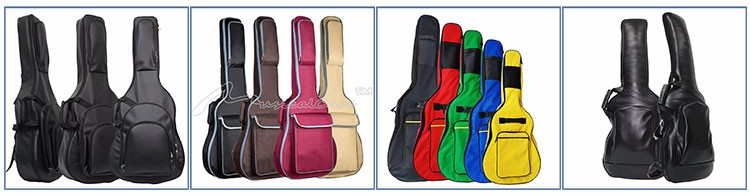 "20mm Padded 41"" Acoustic Guitar Bag Soft Case Backpack Top Pocket Head Protect"