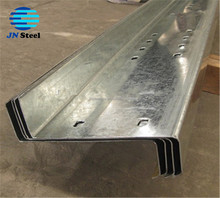 galvanized purlin Z steel beam Z section steel for prefabricated warehouse /steel building/poutry shed steel purlin