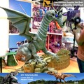 MY Dino-C096 Theme park simulation resin dragon statues for sale