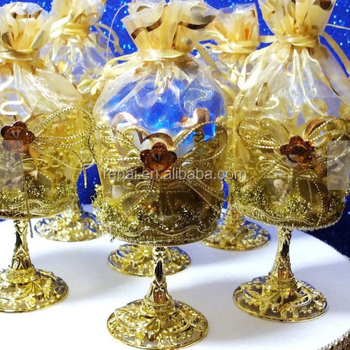 Royal Prince Baby Shower Favor Cups Perfect Boys Blue And Gold Theme Decorations Party Supplie